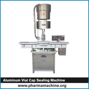 Aluminum Vial Cap Sealing Machine