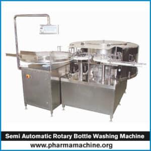Wet Glue Vial Labeling Machine