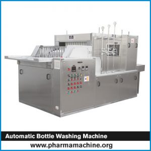 Automatic Bottle Washing Machine
