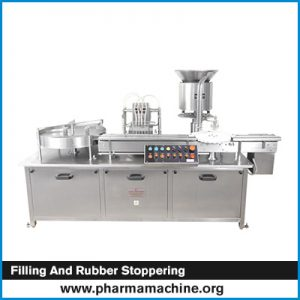 Filling and Rubber Stoppering
