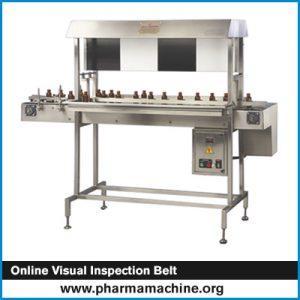 Online Visual Inspection Belt