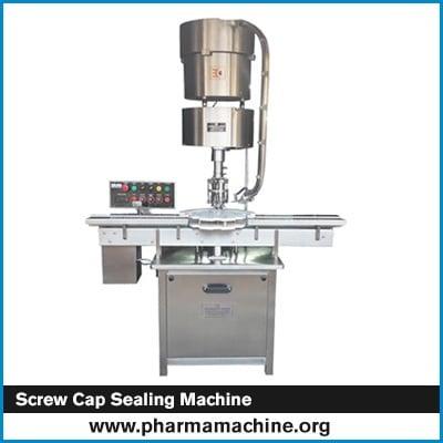 Screw Cap Sealing Machine