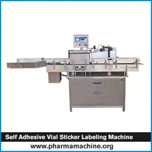 Self Adhesive Vial Sticker Labeling Machine