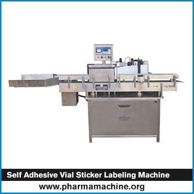 Self Adhesive Vial Sticker Labeling Machine