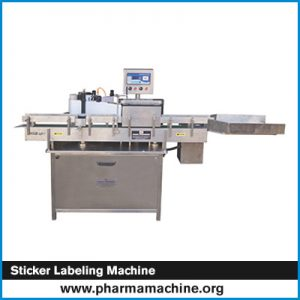 Sticker Labeling Machine